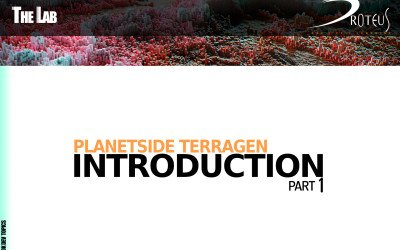 Planetside Terragen Introduction – Part 1