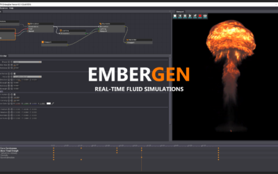 JangaFX EmberGen: un nuovo potentissimo tool a disposizione della Proteus VFX School!