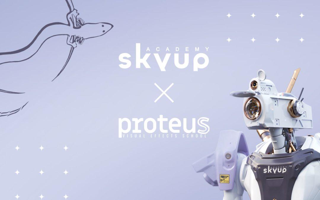 Proteus VFX School + Skyup Academy : Alleanza vincente